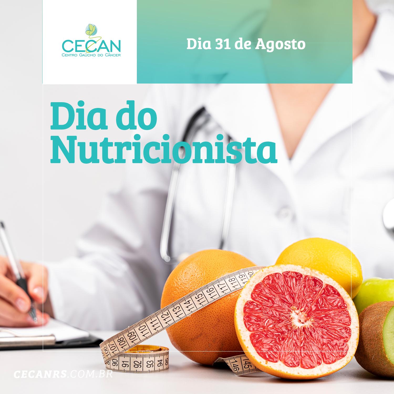 31 de Agosto - Dia do Nutricionista!